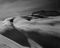 Ski Tracks & Shadow